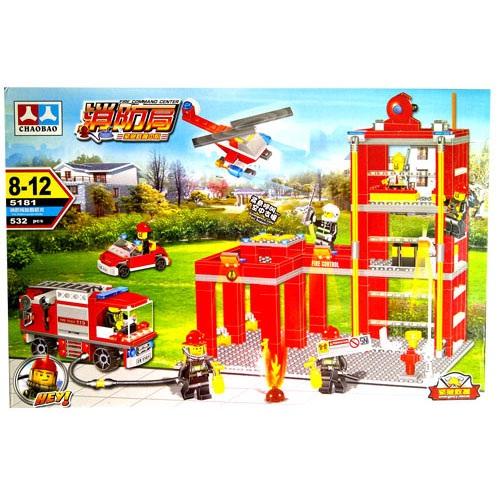 CHAOBAO FIRE COMMAND 532PCS SERI 5181