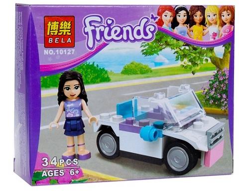 BELA FRIENDS 34PCS SERI 10127