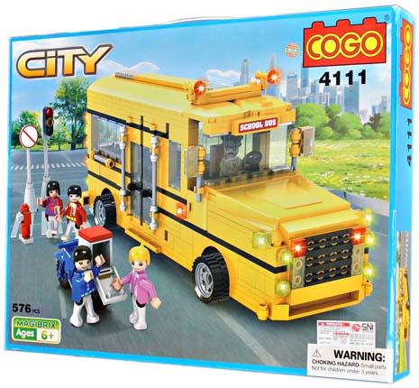 COGO CITY 576PCS SERI 4111
