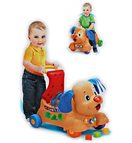 PUZZLE PUPPY BABY WALKER