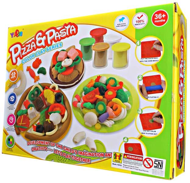 PIZZA & PASTA COLOR CLAY SERIES