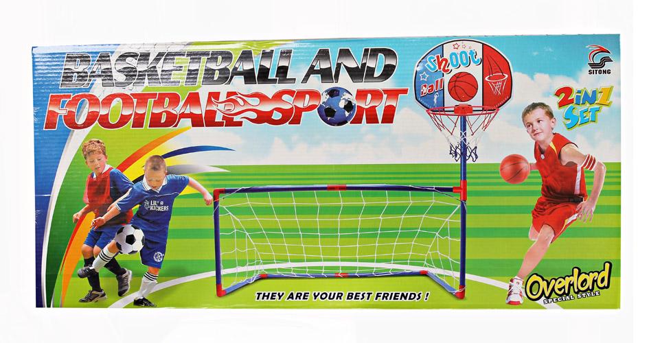 2IN1 BASKET&FOOTBALL SET