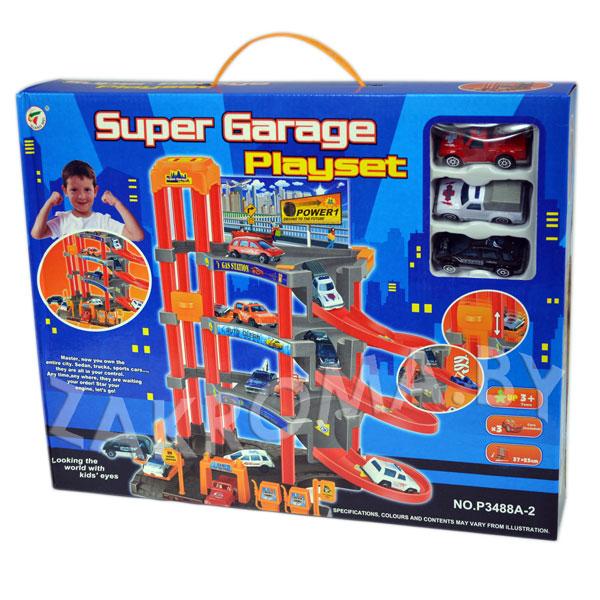 SUPER GARAGE PLAYSET 3488A