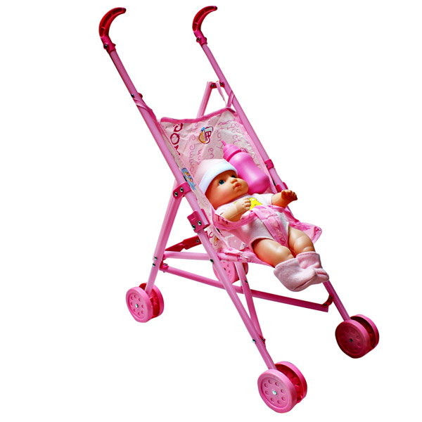 STROLLER WITH DOLL IC