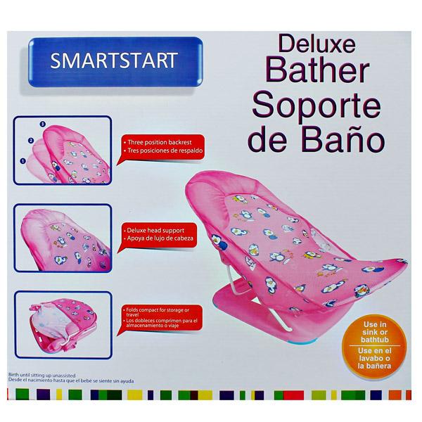 SMART START DELUXE BABY BATHER PINK