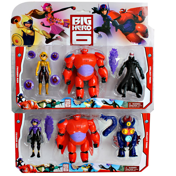 BIG HERO 3PCS SET