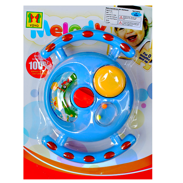 MELODY STROLLER TOY STEER