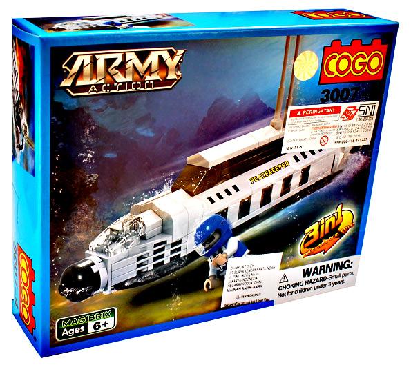 COGO ARMY ACTION 3007-4