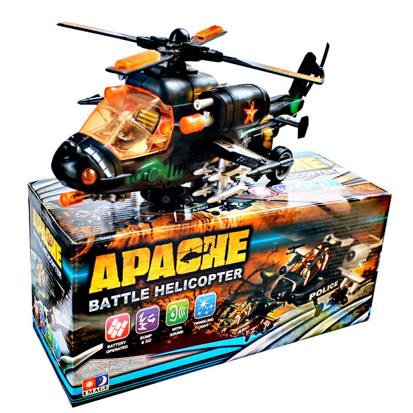 APACHE BATTLE HELICOPTER