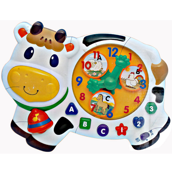 MUSICAL ACTIVITY CLOCK WITH 60 SONGS