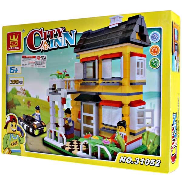 WANGE CITY INN 390PCS SERI 31052