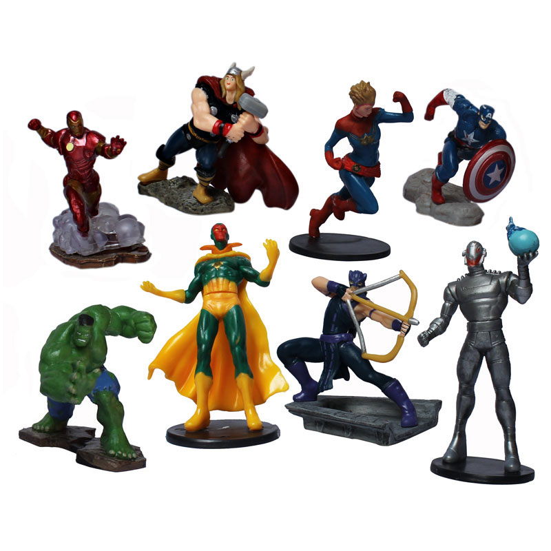 MARVEL IN ACTION FIGURE ISI 8