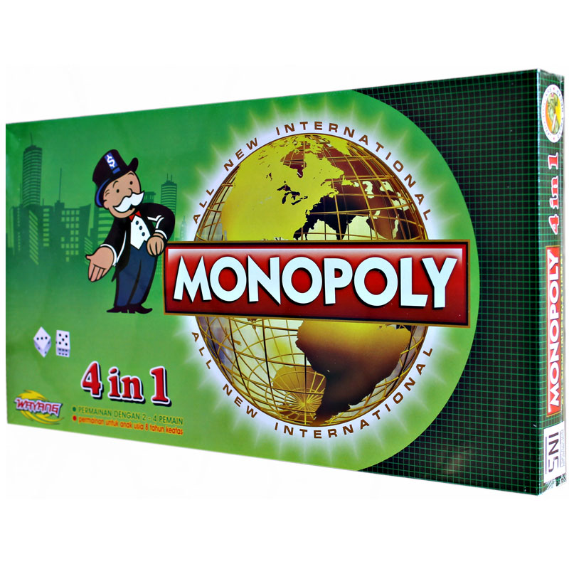 4IN1 MONOPOLY GAME