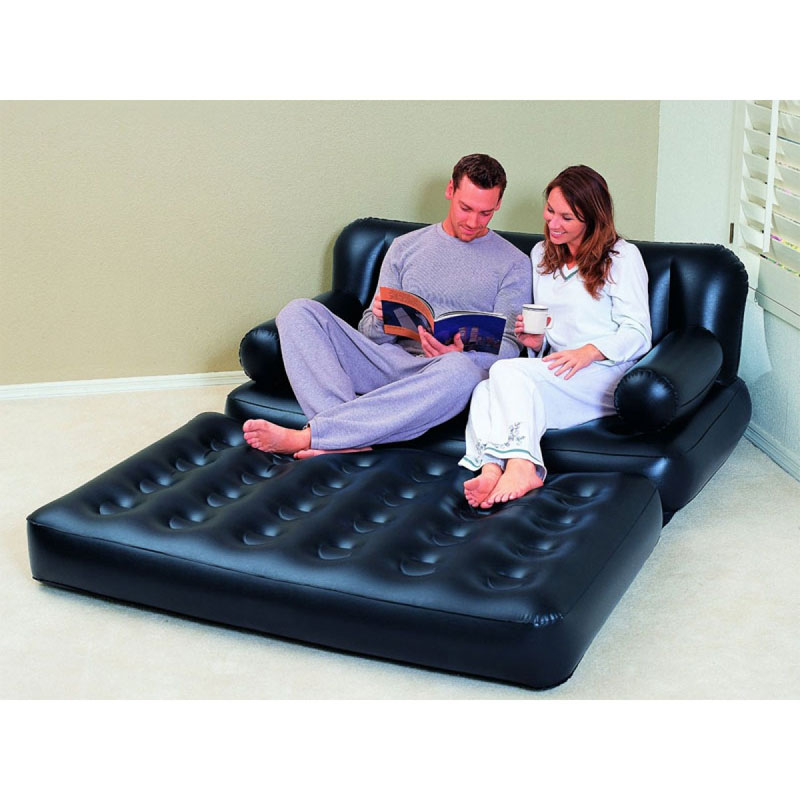 BESTWAY DOUBLE 5IN1 COUCH WITH AIR PUMP