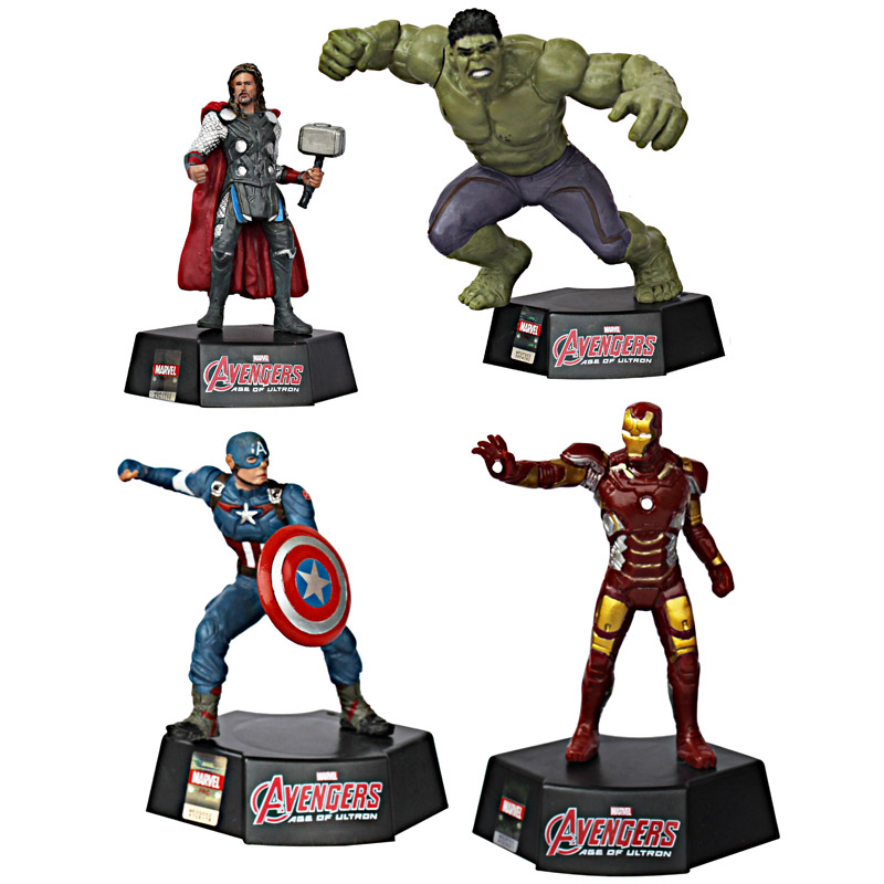 AVENGERS FIGUR ISI 4 WITH STAND