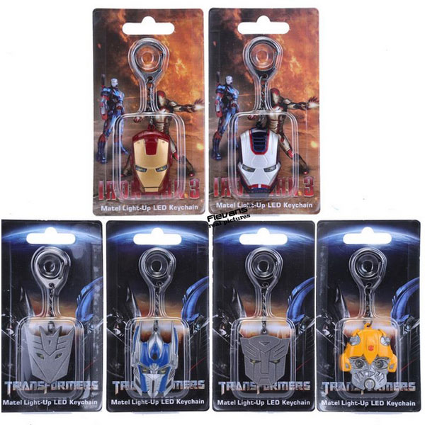 METAL KEYCHAIN PIPIH WITH LED (6 MODEL)