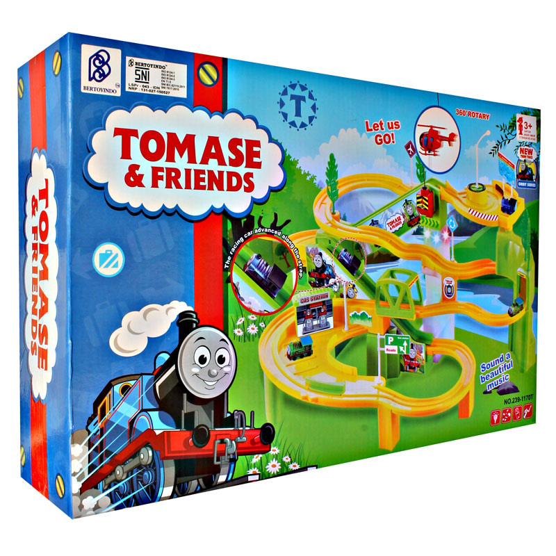 TOMASE AND FRIENDS TRAIN SET