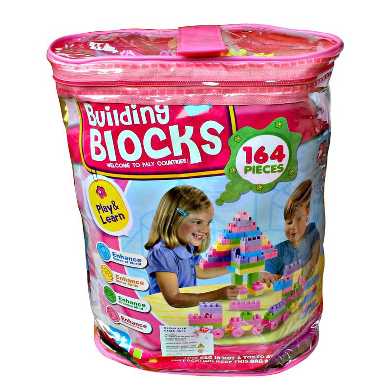 GOLDKIDS BUILDING BLOCKS 164 PCS