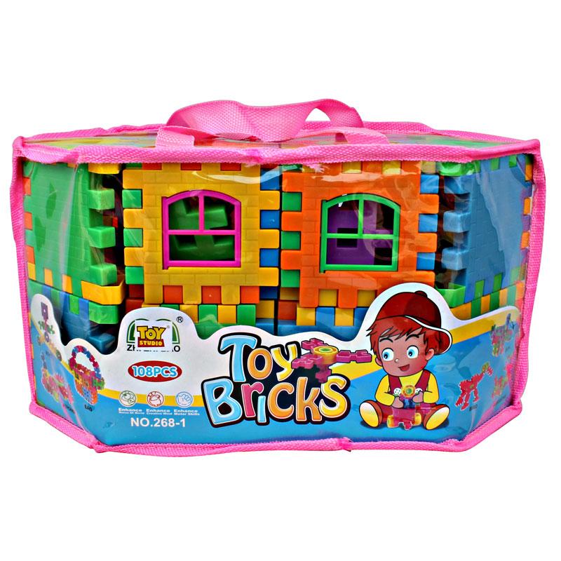 TOY BRICKS 108 PCS SERI 268-1