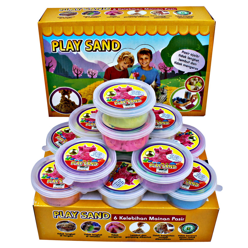 REFILL PLAYSAND 1 BOX ISI 12 CUP