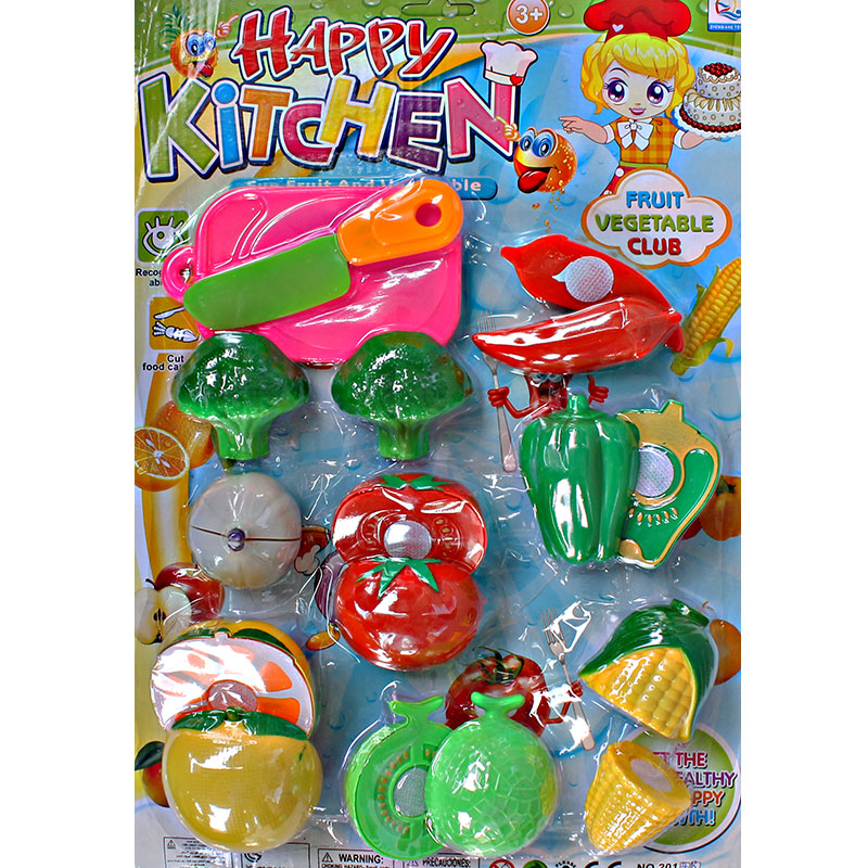 HAPPY KITCHEN FRUIT AND VEGETABLE CLUB