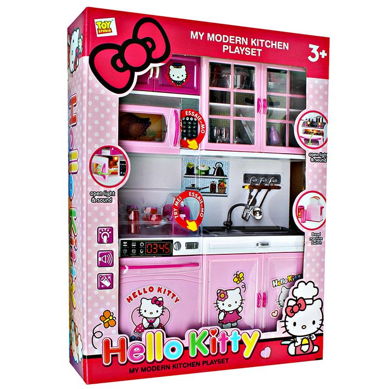 ... MY MODERN KITCHEN PLAYSET HELLO KITTY 8921-5 / 3501