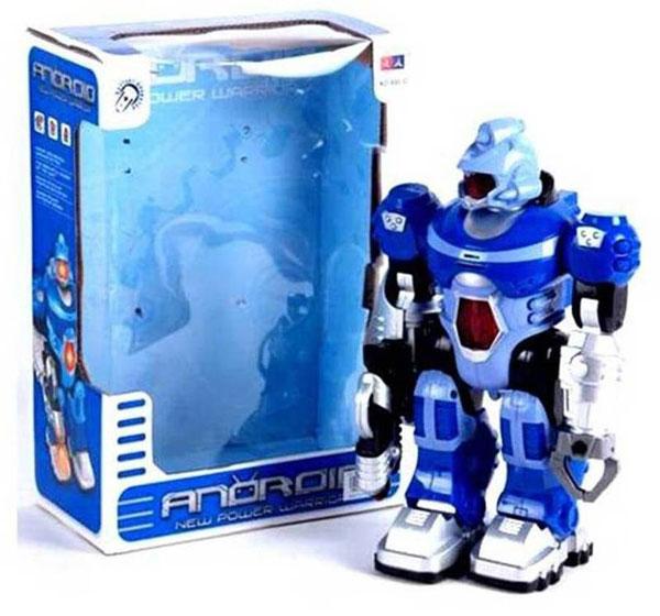 ROBOT ANDROID BIRU