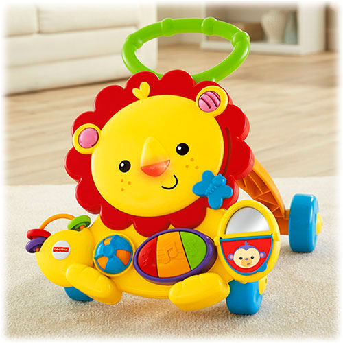 FISHER PRICE MUSICAL LION WALKER