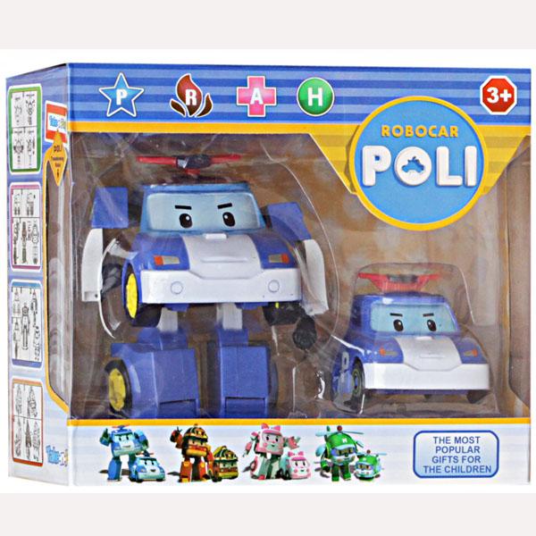 ROBOCAR TRANSFORMING ISI 2 POLI .