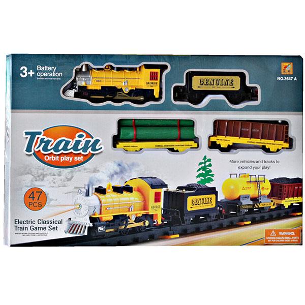 TRAIN ORBIT 47PCS