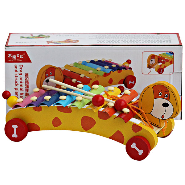 WOODEN XYLOPHONE PUPPY