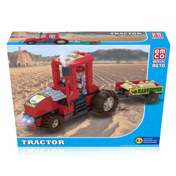 EMCO BRIX TRACTOR SERI 8670