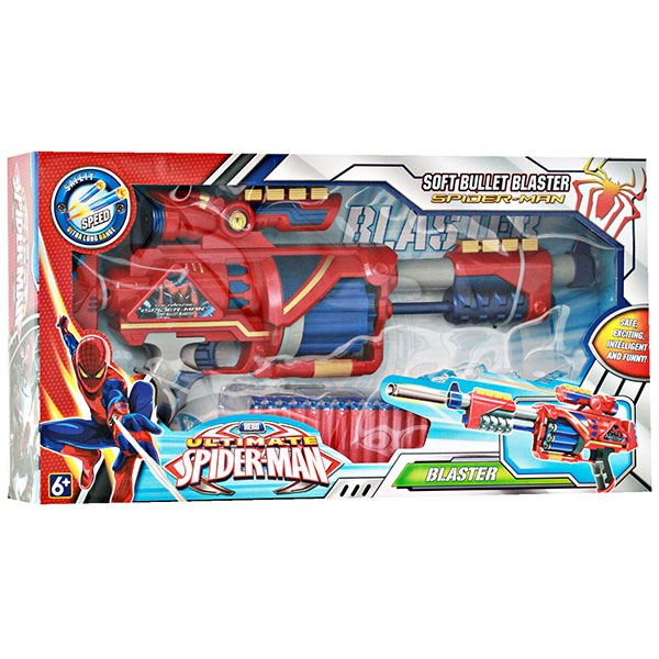 SOFT BULLET GUN SPIDERMAN SB371
