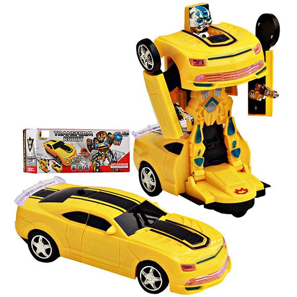 TRANSFORMER ROBOT CAR , mainan mobilan dapat berubah menjadi robot