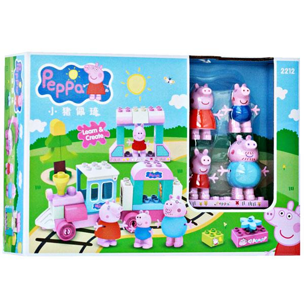 BUILDING BLOCK PEPPA PIG SERI 2212