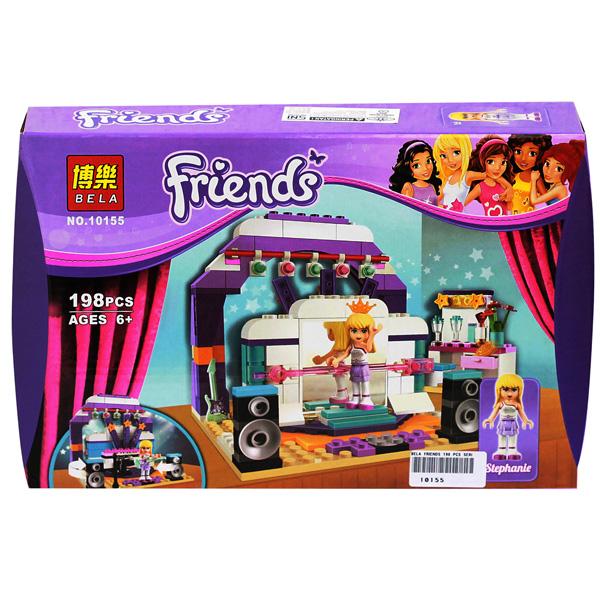 BELA FRIENDS 198 PCS SERI 10155