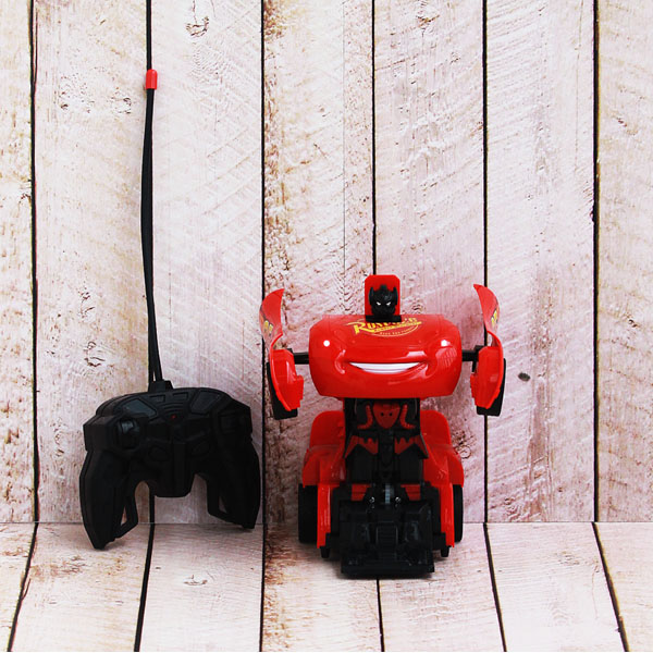 RC ROBOT TRANSFORMER MCQUEEN