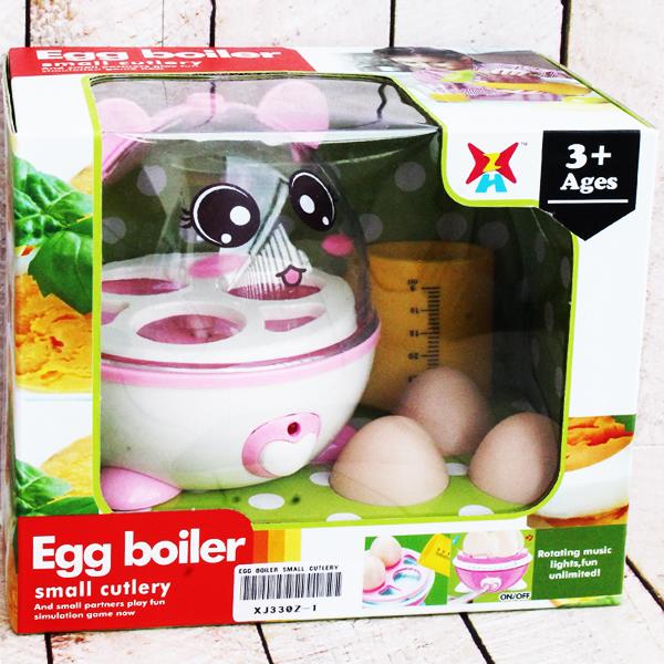 EGG BOILER SMALL CUTLERY , mainan alat merebus telur