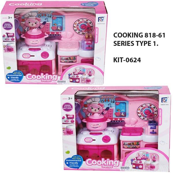COOKING 818-61 SERIES TYPE 1 , cooking series , mainan masak masakan anak .