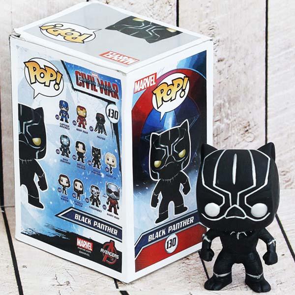 FUNKO BLACK PANTHER POP FIGURE CHIBI , funko figure black panther.