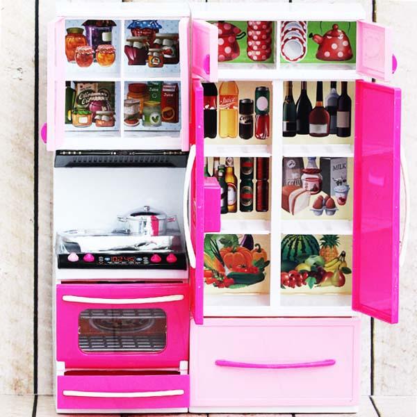 MODERN KITCHEN PLAYSET PINK , kitchen mainan anak , mainan anak kitchen playset
