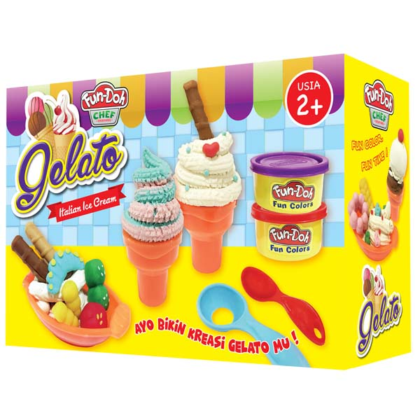 FUN DOH GELATO , gelato