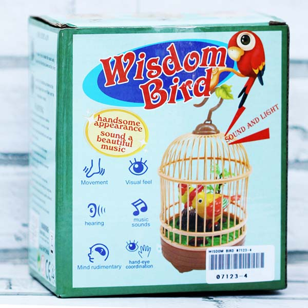 WISDOM BIRD 07123-4