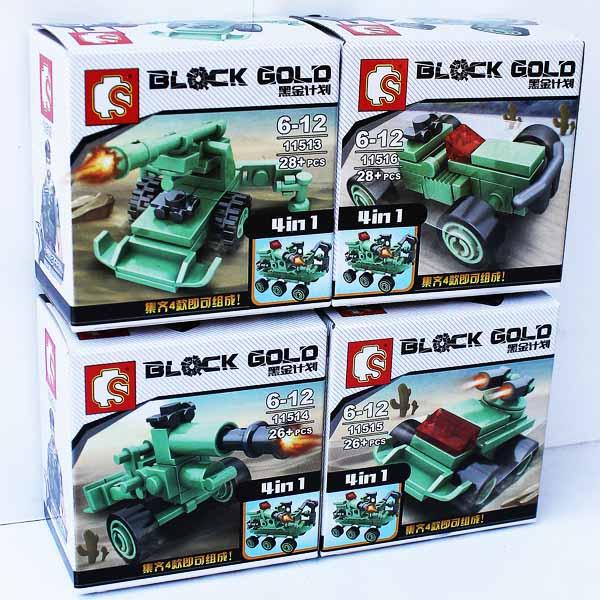 BLOCK GOLD ARMY TRANSPORTASI SATUAN , block gold