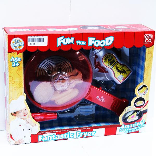 EMCO PAN FANTASTIC FRYER , teflon magic