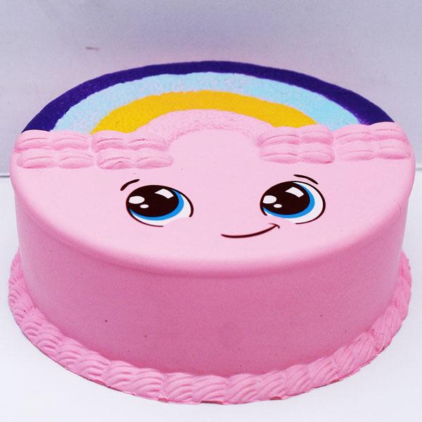 SQUISHY RAINBOW CAKE , squishy