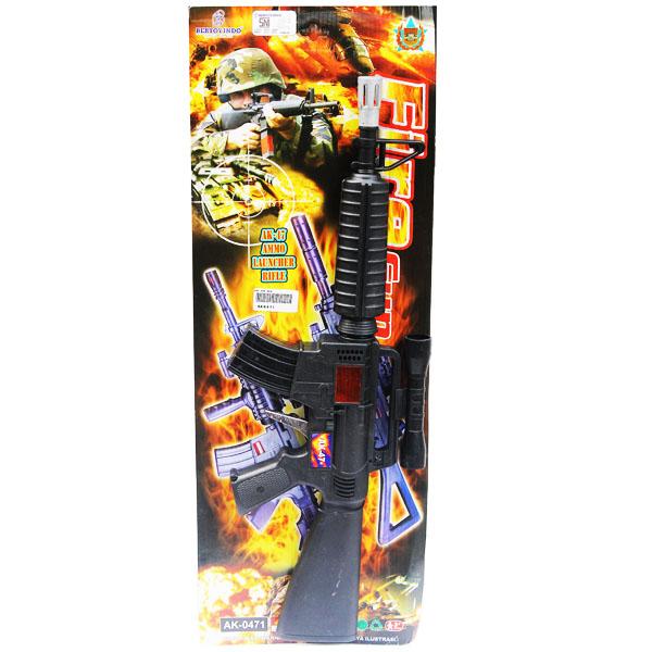 FIRE GUN AK47 , tembakan