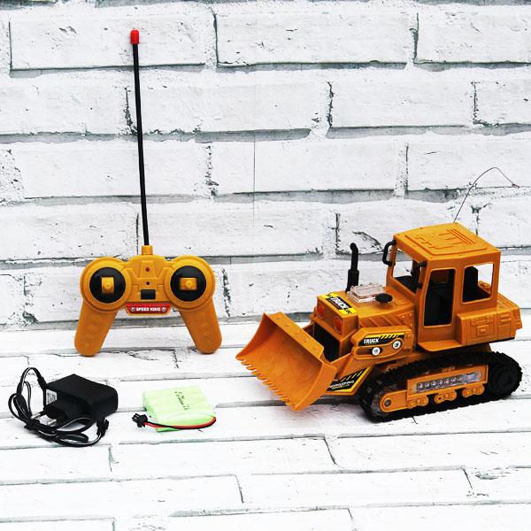 rc truck, truck, shovel