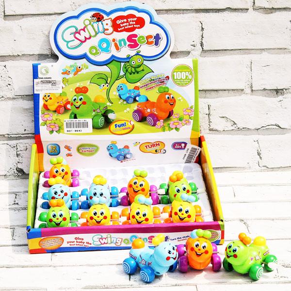 cutterpillar, funny toys, mini toys, mainan kecil
