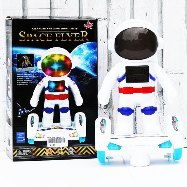 space flyer, balance, robot